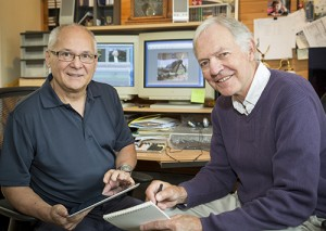 Jim Curran and Joe Cote