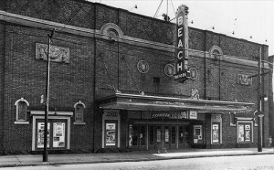 The Beach Theatre. PHOTO: National Archives of Canada