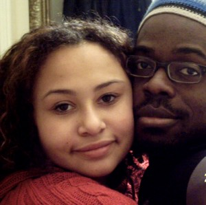 Yasmin Soul and her father, Haydain Neale. PHOTO: Michaela Hudson