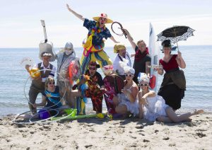 Just a few of the buskers who will perform at the 17th annual Toronto International Buskerfest, to be held in the Beach for the first time over the Labour Day weekend.